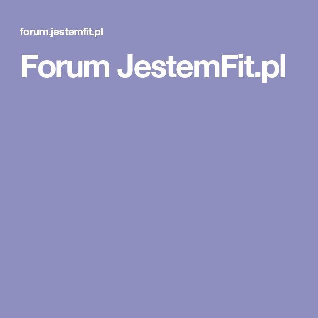 Forum JestemFit.pl