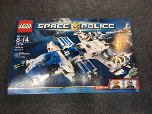 Lego Space Police 5974 Galactic Enforcer - New, Sealed