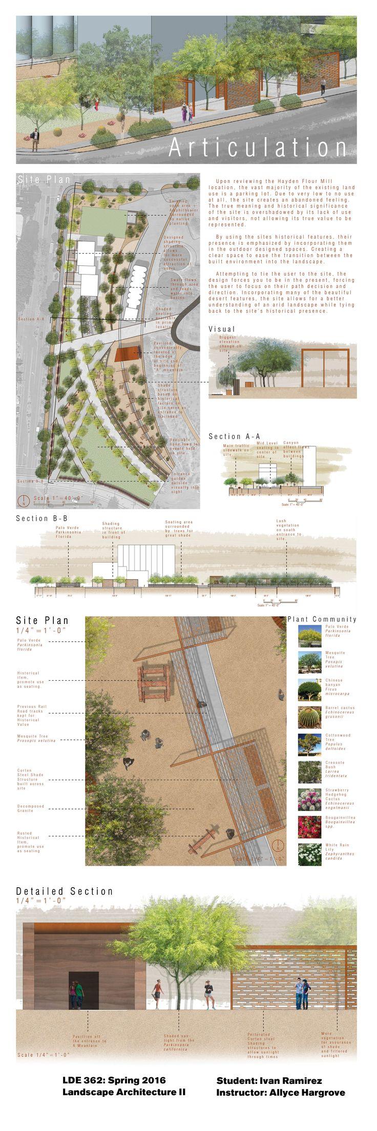 25 mejores im 225 genes de architecture vegetation en pinterest - Learn More About The Landscape Architecture Program At Https Design Asu
