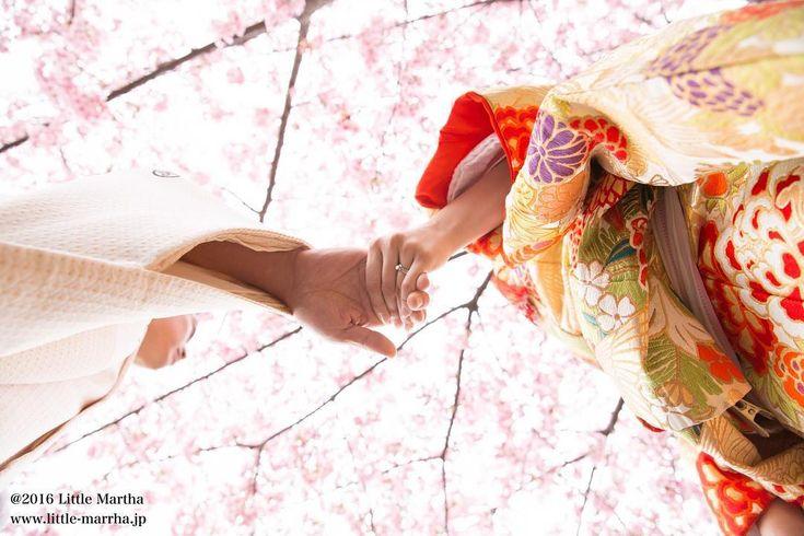 桜ロケーションフォトで結婚式前撮りをするならリトル・マーサ | marry[マリー]