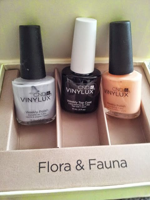 Stars and stellars           : Cnd Vinylux Flora & Fauna collection!!