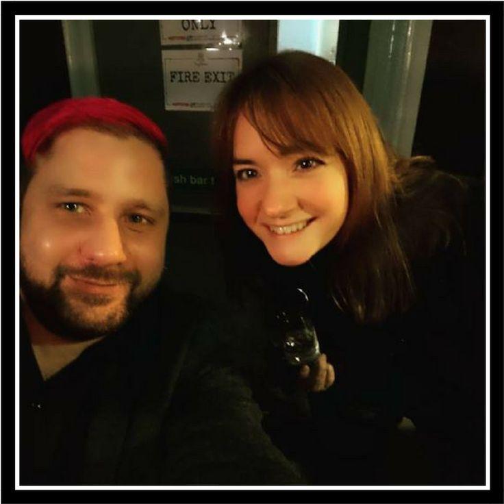 Me and Krissie at Tej's Birthday 2017 #cardiff #beers #TinyRebel #wales