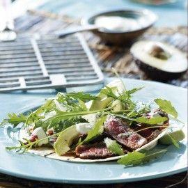 Recept - Wrap van de grill met gemarineerde biefstuk  - Boodschappenmagazine