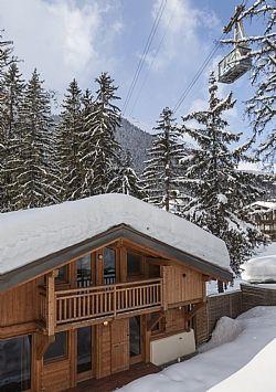 Location vacances chalet Argentiere: Chalet next to ski lift