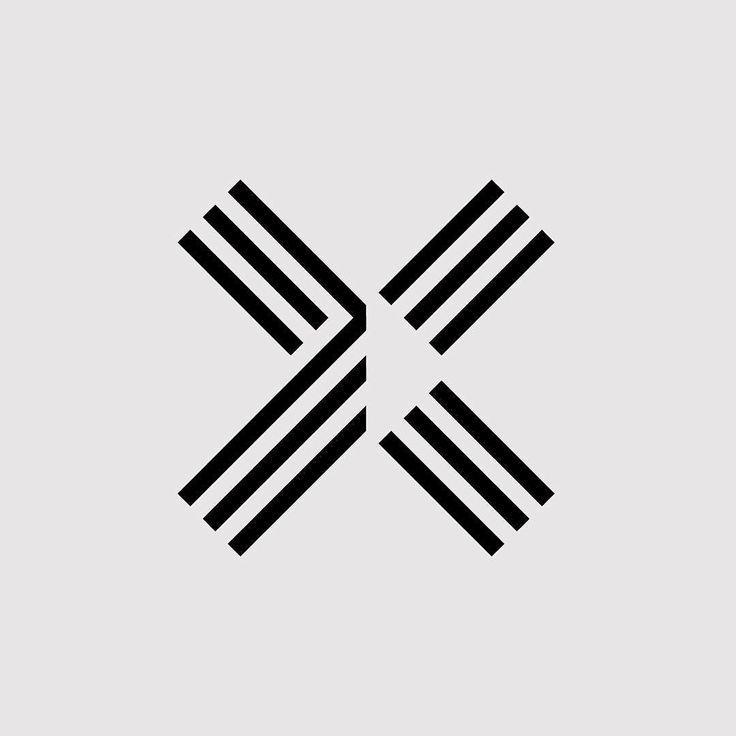 Today's @36daysoftype 'X' #36daysoftype #36daysoftype_x #logo by mashcreative