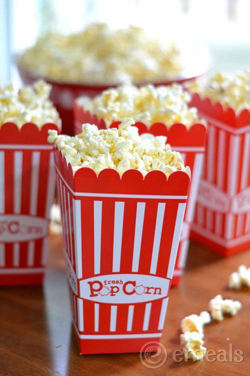 Family Popcorn Party