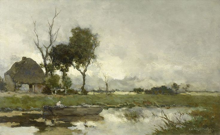 File:Jan Hendrik Weissenbruch - Herfstlandschap.jpg  Saw this one in the Rijksmuseum Amsterdam again. Breathtaking