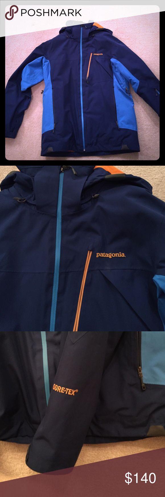 Patagonia Ski Jacket Patagonia ski jacket that is lined; removable hood; goretex Patagonia Jackets & Coats Utility Jackets