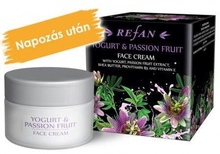 Joghurt & Maracuja arckrém - Mindennapi arcápolás a magával ragadó maracuja illatával. A joghurt koncentrátum és a maracuja gyümölcskivonat méleny hidratálja és lágyítja a bőrt. Parabèn mentes termèk! ©Refantázia