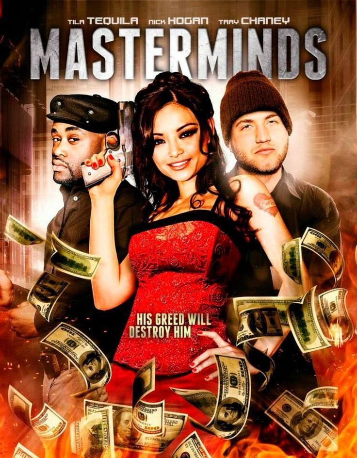 "#Movie #IMDb #Movies #DVD #DVDs #Film #Films #ActionMovie #ActionMovies #Masterminds (Short Synopsis) ""When a businessman's plot to steal from #criminals goes south, he learns he stole from the wrong guy… and when a #dangerous drug cartel shows up all hell breaks loose!"" (Starring) #TilaTequila (TV's A Shot at Love with Tila Tequila, I Now Pronounce You Chuck & Larry), Nick #Hogan (VH1's Hogan Knows Best), Tray Chaney (HBO's The Wire), and Darius Willis (The Last Castle, Billy: The Early…"