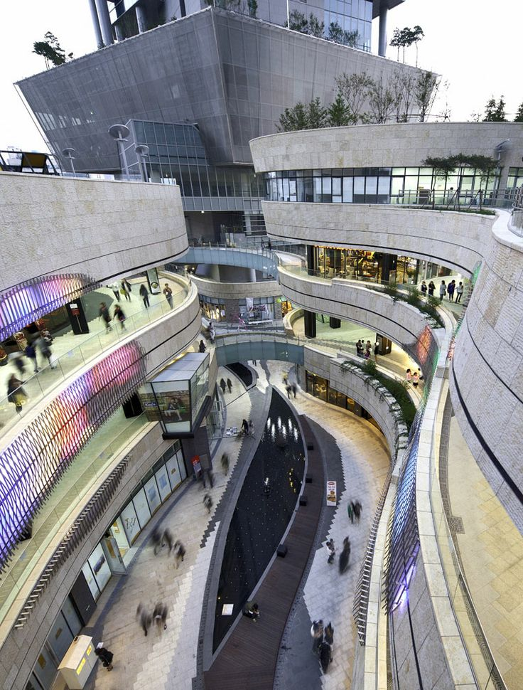 Mecenatpolis, Jerde Partnership, Seoul, South Korea.