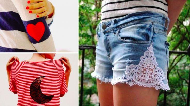31 idées sympathiques pour relooker vos vieux vêtements