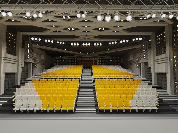 THEATRE DESIGN by Van Anh Pham Thi, via Behance