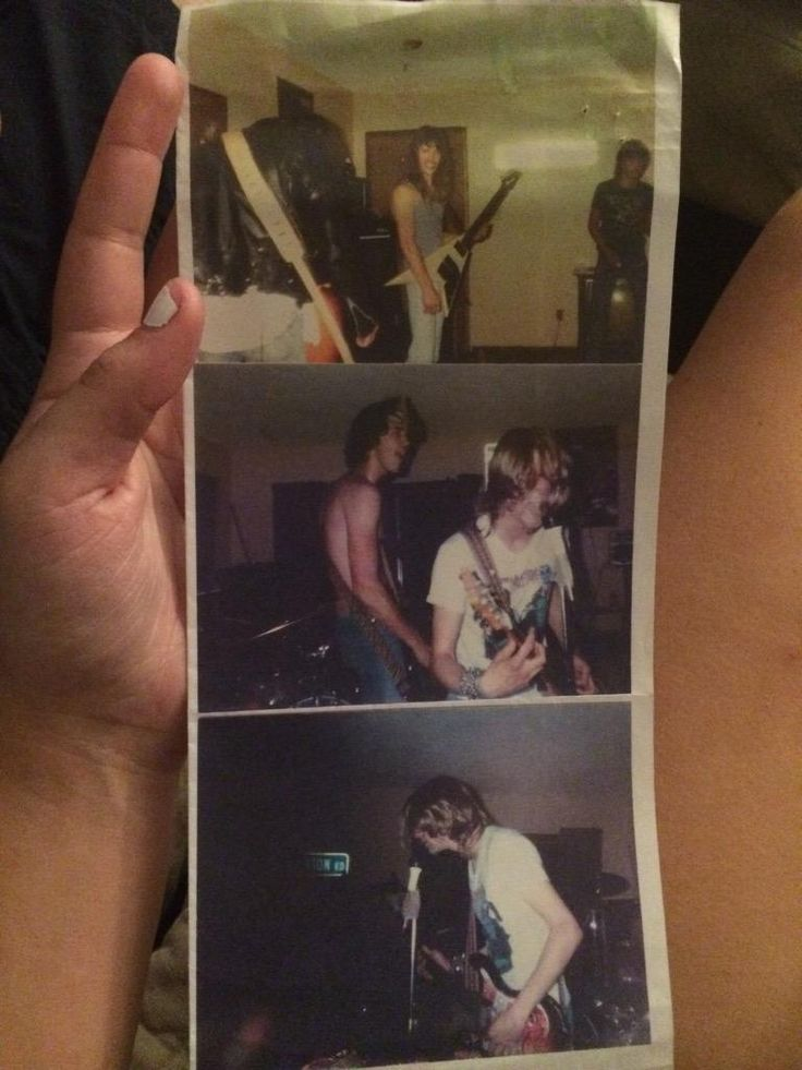 Maggie Poukkula finds pictures of first-ever #Nirvana gig among her dad's books : mashable - 7/22/15
