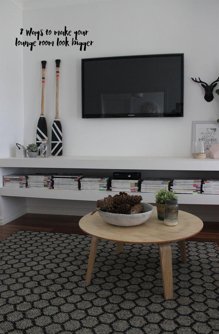 8 Ways to make your lounge room look bigger - Katrina Chambers | Lifestyle Blogger | Interior Design Blogger Australia