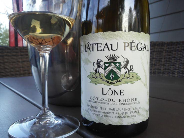 Sommelier Par Pur Plaisir : - BLOG - vin blanc Château Pégau 2016