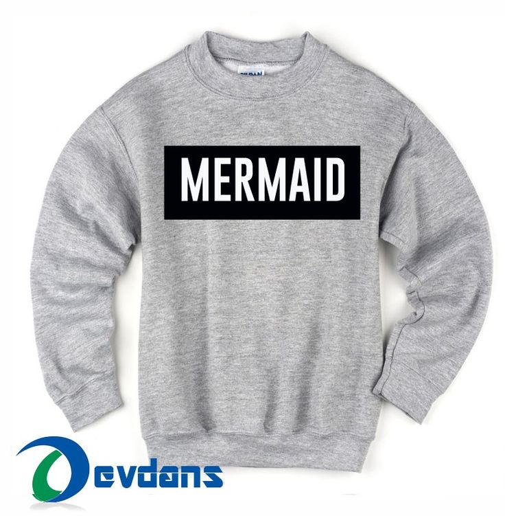 Mermaid Sweatshirts size S,M,L,XL,2XL,3XL