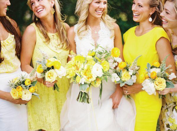 Southern wedding - yellow wedding