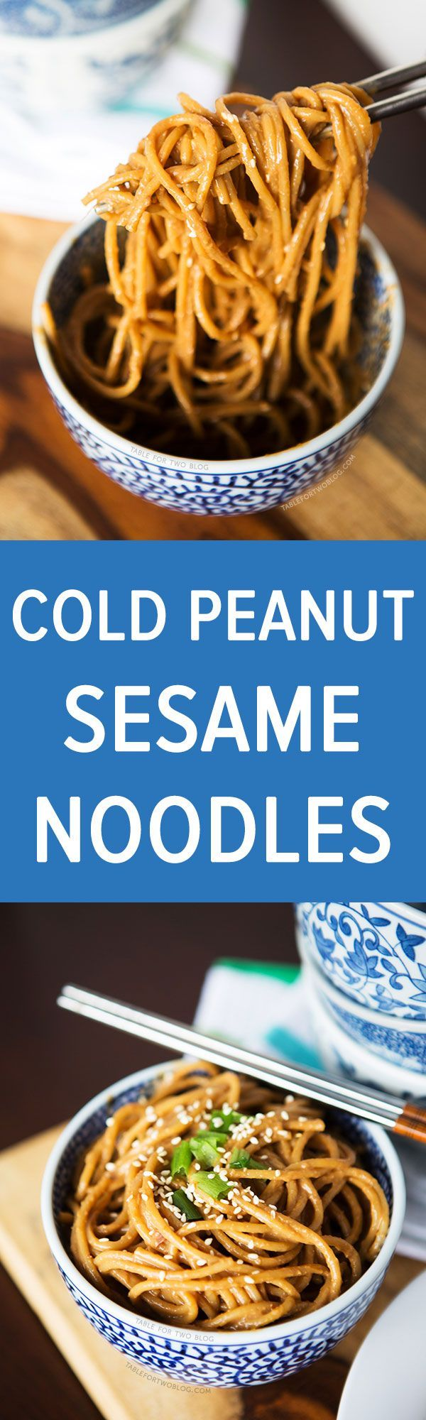 These cold spicy peanut sesame noodles are so yummy for any day of the week! If your kid enjoys a little spice and has no peanut allergies, then this could be the perfect lunchbox item!
