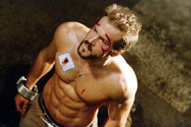 75 sarados do cinema, filme: Blade Trinity - Ryan Reynolds