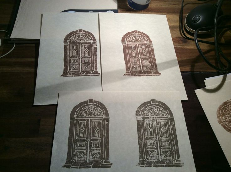 Latest Linocut efforts