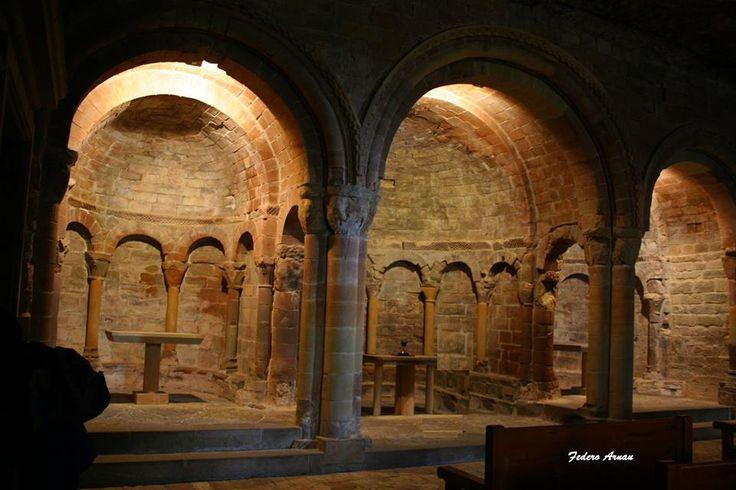 Monasterio alto de San Juan de la Peña (Huesca):España y F. Arnau