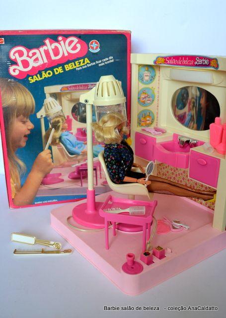 Salão de Beleza da Boneca Barbie