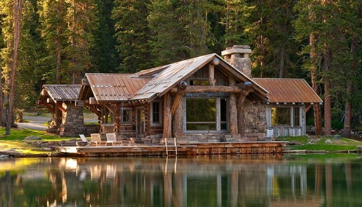 log cabin dream home interior home design pinterest lakes cabin and logs. Black Bedroom Furniture Sets. Home Design Ideas