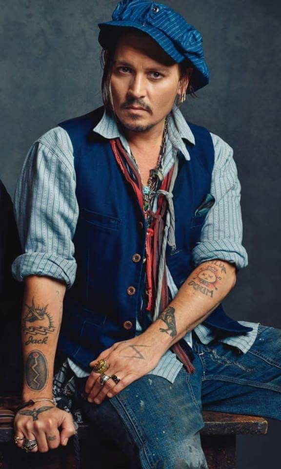 sexy Bilder von Johnny Depp