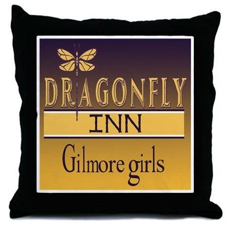 Gilmore Girls Tv Throw Pillow Stars Hollow