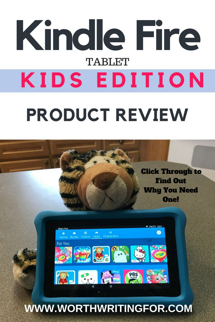 The Kindle Fire Kids Edition is an amazing tablet for kids. Check out my review to find out why it's the perfect tablet for your child!