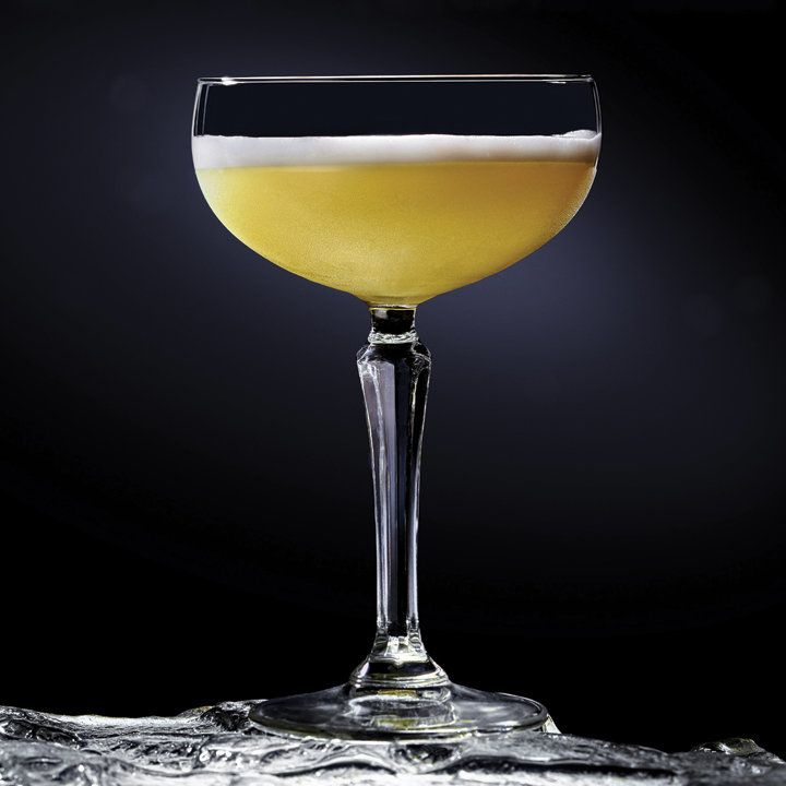 Planet Hoth Toddy:  2 oz Bacardi Gran Reserva Maestro de Ron 3⁄4 oz Lime juice 1⁄2 oz Simple syrup 1⁄4 oz Maraschino liqueur 1  Egg white