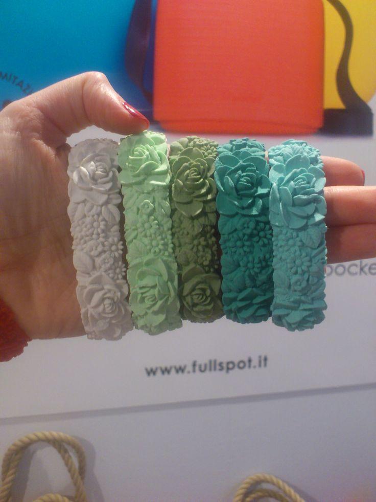 Bracelets from Fullspot! Perfect for summer... Soon at Mall of San Juan!