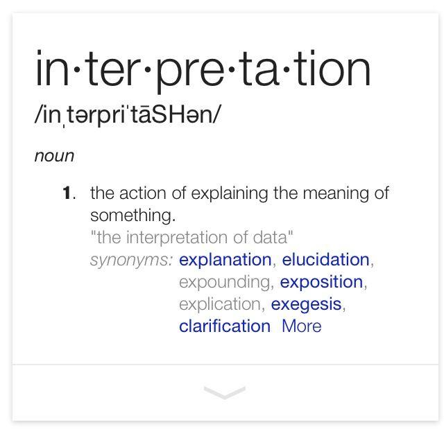 17 Best Images About Interpretation On Pinterest