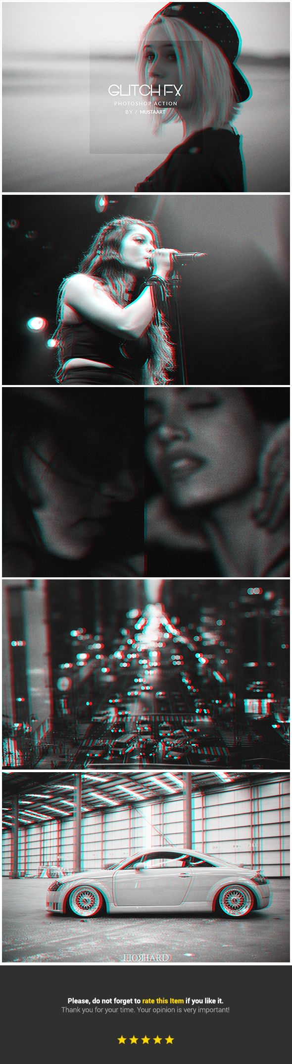 Glitch FX - Photo Effects Actions