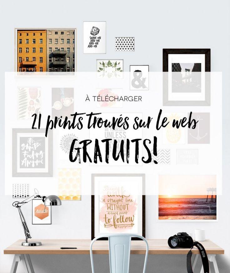 Aujourd'hui je visite ZE reine du décor (tk, selon moi) et je me disais que vous aimeriez peut-être avoir une collection de prints sur votre mur (comme celle dans mon bureau)… encore mieux s'ils étaient gratuits! Cliquez sur les liens pour les télécharger et imprimez-les sur votre imprimante ou, si vous avez du budget, de...Read More »