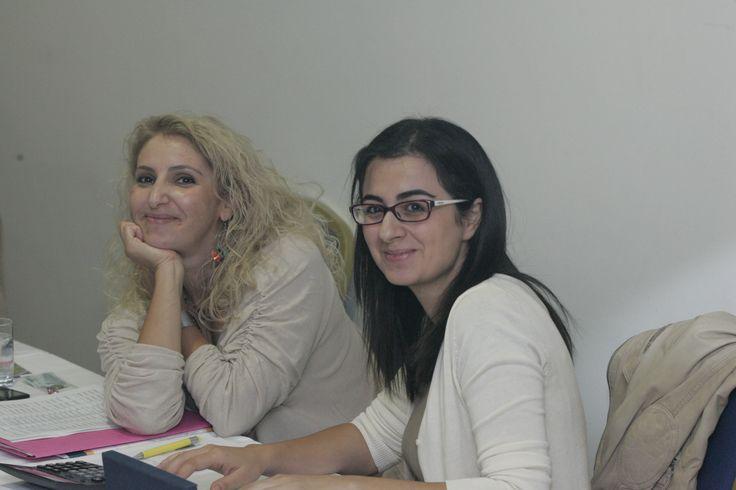Πρόσωπα του #Retreat2013: Μαρία Ζαντή & Αναστασία Μηνά.