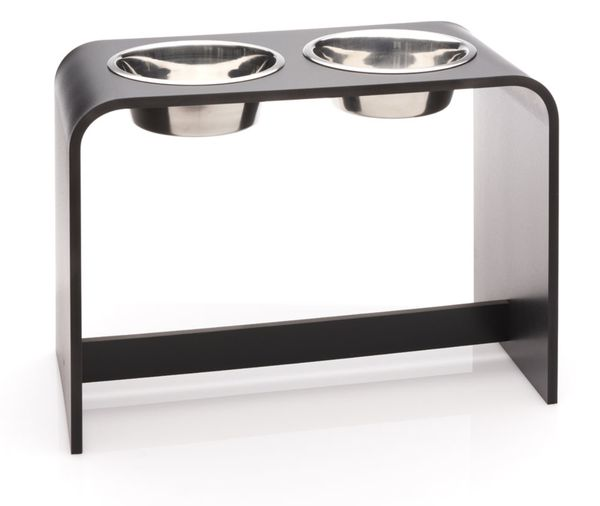14 inch Elevated Dog Bowl with two 2 Quart Bowls