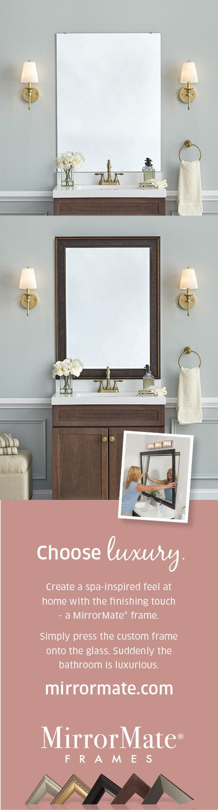 49 best MirrorMate Before and Afters images on Pinterest | Custom ...