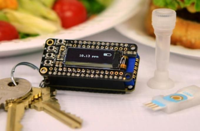 $40 keychain-size detector quickly alerts you of allergens in food