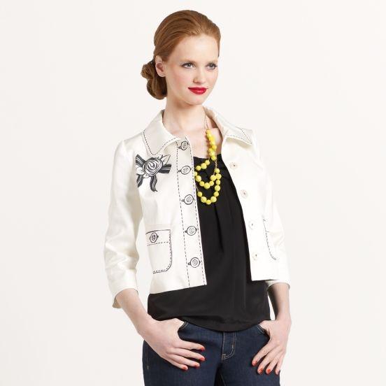 Kate Spade Tromp L'oeil Jacket