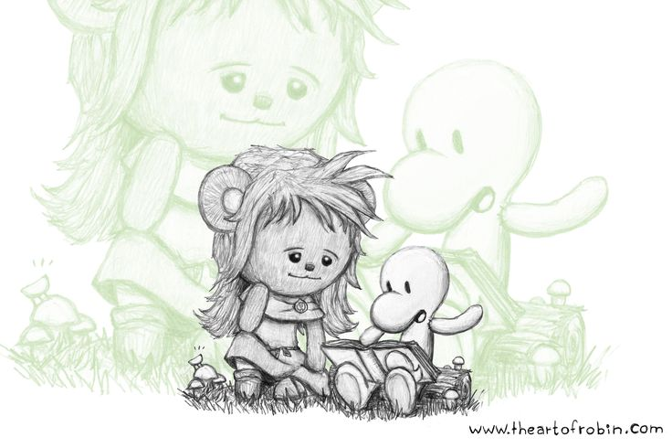 Teddy Tuesday#19 is Thorn and Fone Bone from Bone by Jeff Smith