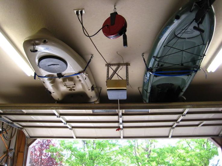 Kayak Garage Storage How-To