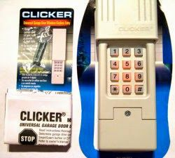 Clicker Garage Door Opener Keypad - Whatever garage door products and essential components you require; experts at 24 Austin Garage Doors are always here to assist you.