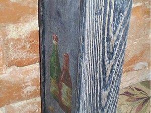 """урок """"Состаривание древесины"""" - Ярмарка Мастеров - ручная работа, handmade"""