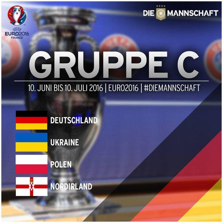 Euro Cup France 2016 die Mannschaft group C