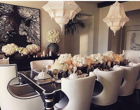 Inside Khloe Kardashian's extravagant Thanksgiving dinner as the entire clan…