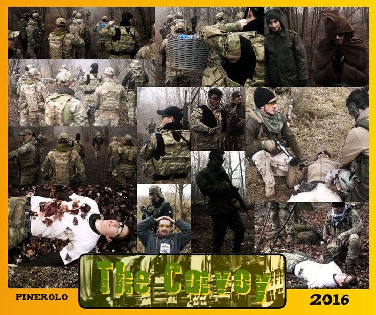 """Scenario MILSIM """"The Convoy"""" tenutosi il 10 gennaio 2016 presso il Campo dei Force Black a Pinerolo (TO) - Per maggiori informazioni: http://www.tshape.org/theconvoy/"""