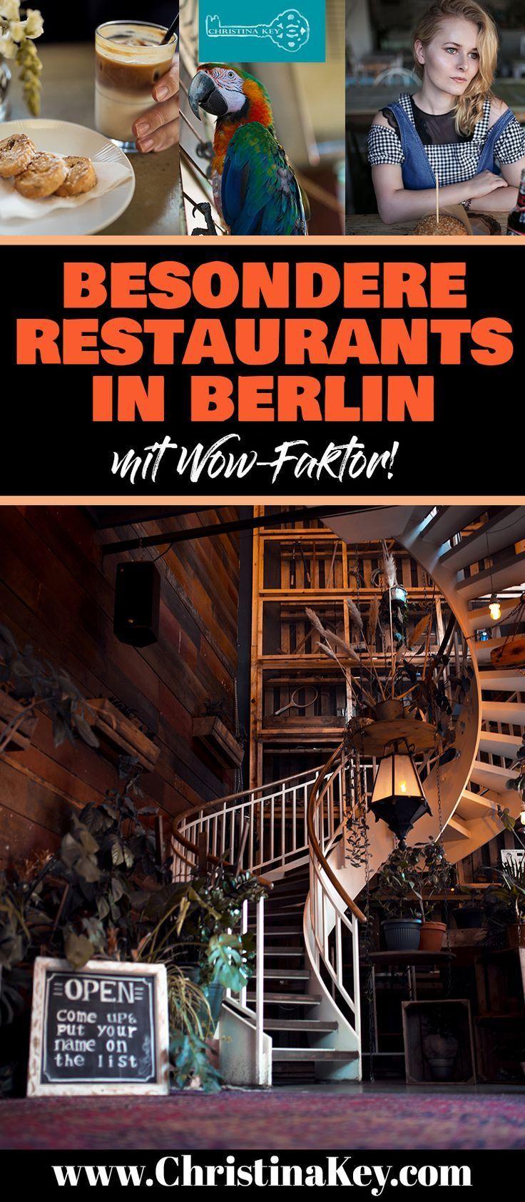 Besondere Restaurants & Cafés in Berlin