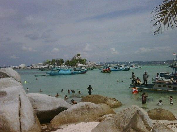 my beautiful home town - Lengkuas Island, Belitung, Indonesia